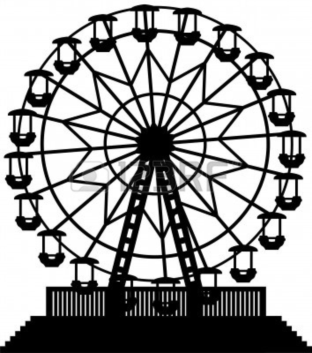 ferris wheel clipart wheels and 2 [ 1062 x 1200 Pixel ]