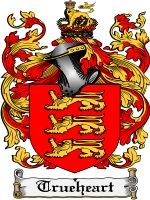 Trueheart Coat of Arms / Family Crest Downloadable JPG