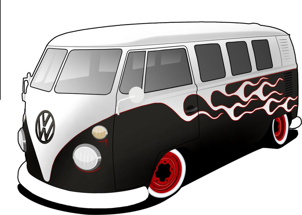 Vw Bus Cartoon Pictures