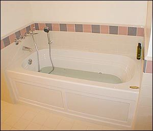Hand held shower convert your bathtub into a shower for Live in caregiver room and board