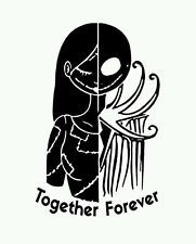 Jack /& Sally Nightmare Before Christmas Love In home Wall decal