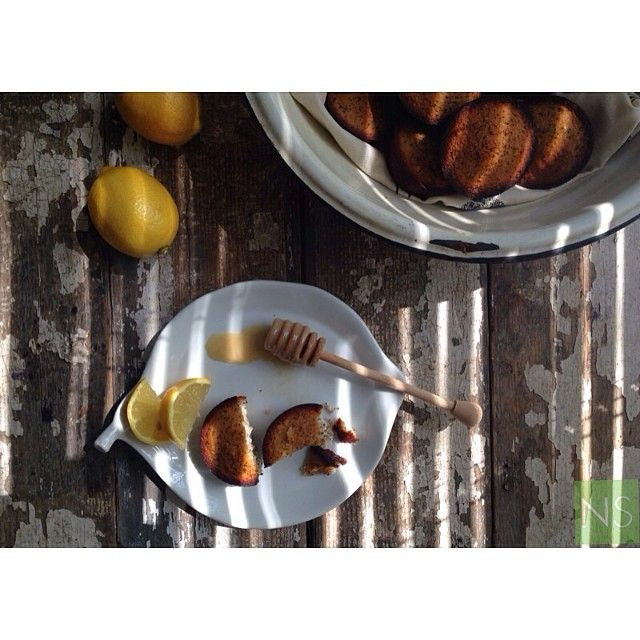 """@nutritionstripped's photo: """"I just shared a deliciously simple and healthy recipe for my Sunny Lemon Poppy Seed Muffins! I love this spread with raw honey on top and a big glass of homemade almond milk, perfect and I know you all are going to love it! _______________________________________ b l o g // NutritionStripped.com s e r v i c e s // nutrition coaching available via Skype/telephone US & international"""""""