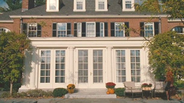 For Sale The Colonial Revival House Used In The Women House Colonial Revival Red Brick House