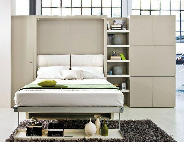 Raumsparendes Klappbett - smarte Sofa Systeme | Klappbett ...