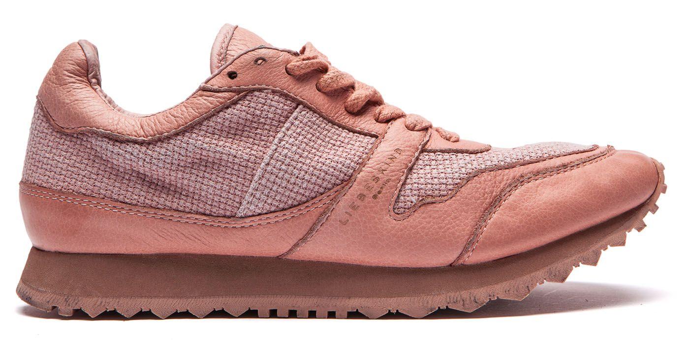 #Liebeskind cotton structure pink trainer - salamanca