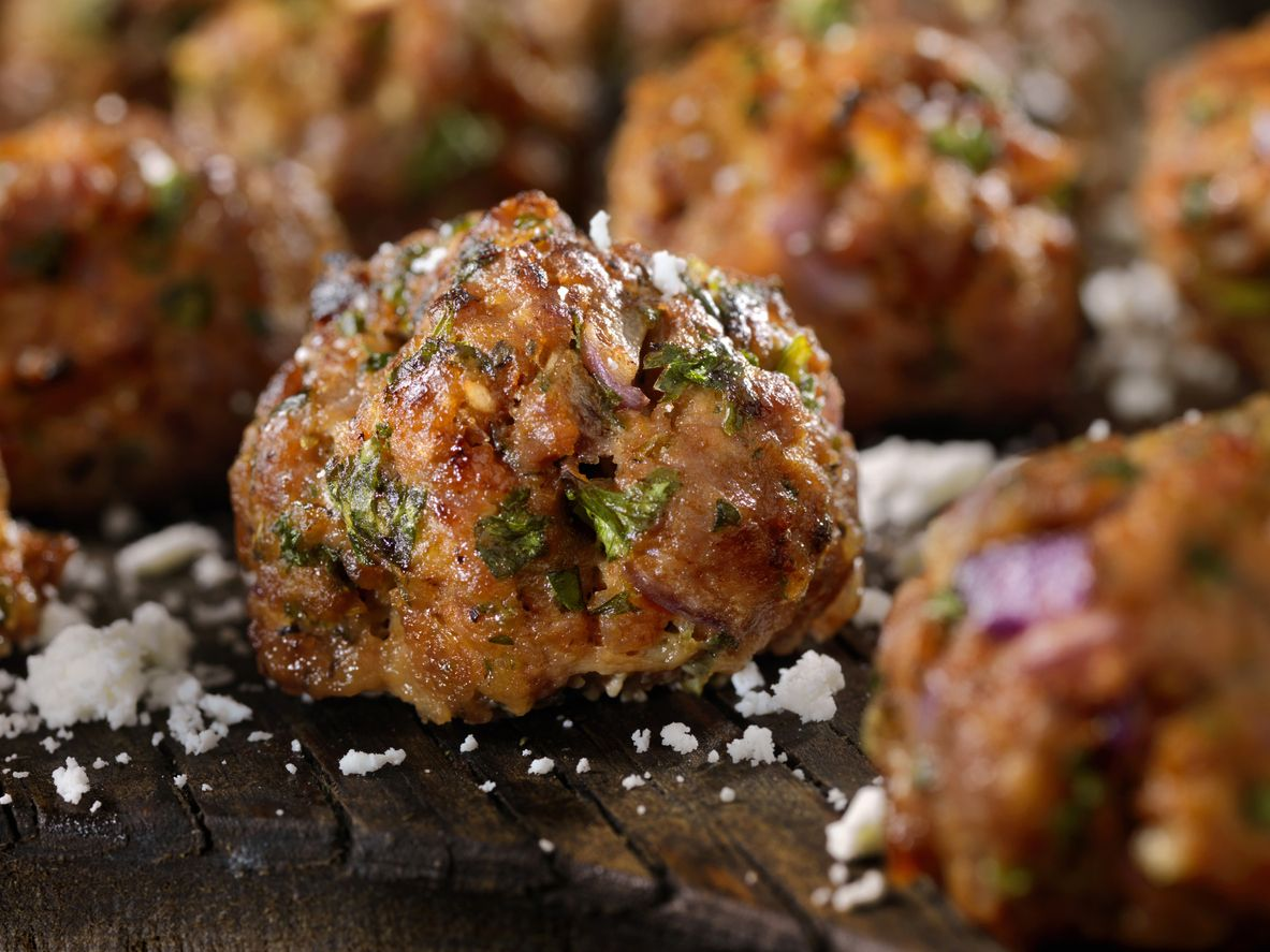 Recipe Veal Pork And Beef Meatballs Italian Sons And Daughters Of America Veal Recipes Ground Beef Meatballs Beef Meatball Recipe