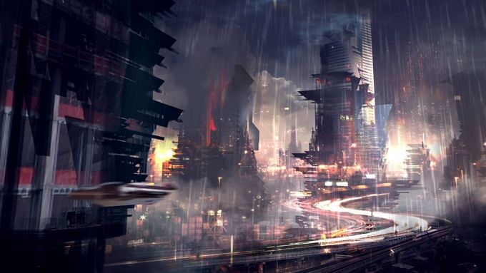 Cyberpunk Wallpapers 1920x1080 City Wallpaper Futuristic City Sci Fi City