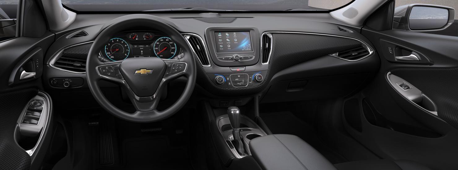 2015 Malibu LTZ Jet Black interior | 2015 Chevy | Pinterest | Mid ...