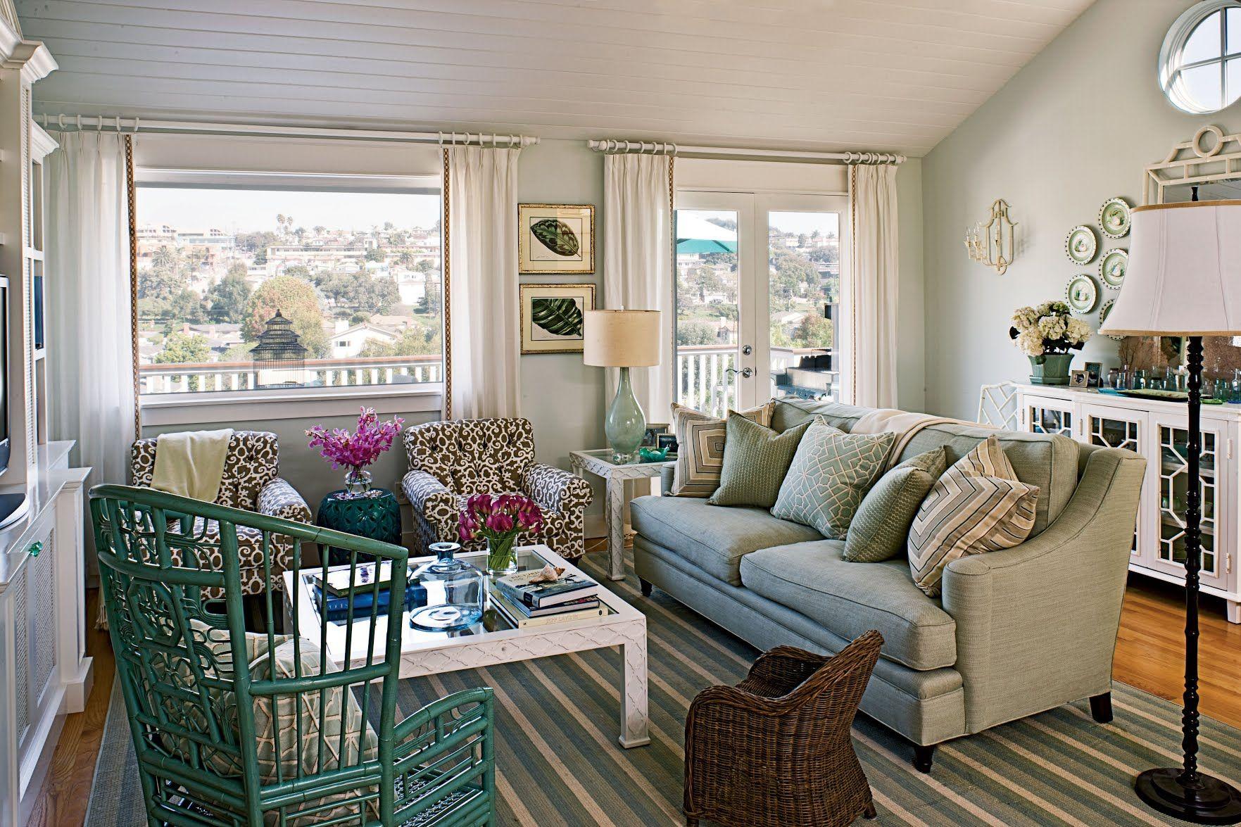 100 Comfy Cottage Rooms | Coastal cottage living room ...