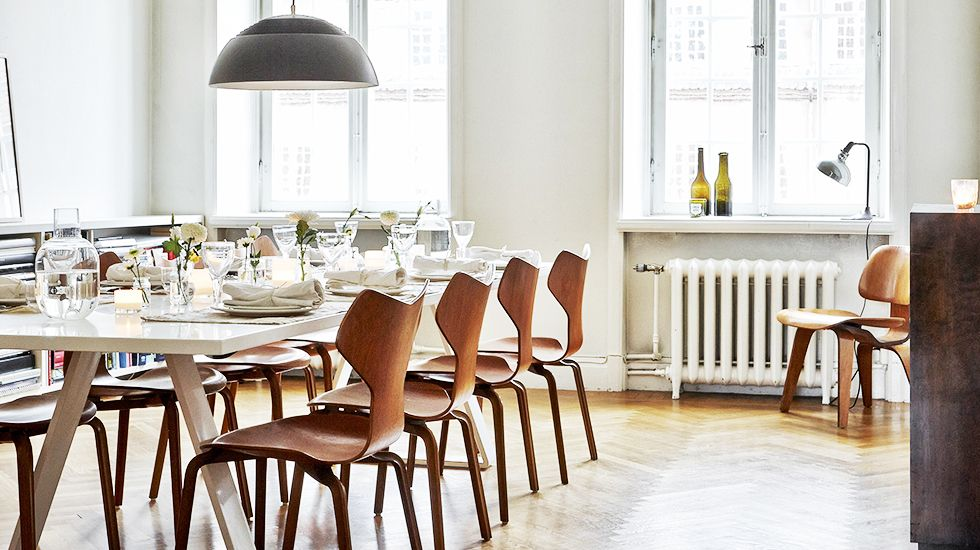 H&m Home's Head Of Design Masters The Art Of High & Low  Wooden Simple Dining Room Head Chairs Review