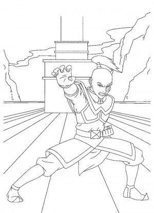 Avatar coloring page 22 | Muñecas de papel y Paginas para colorear ...