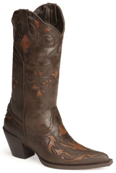 Roper Vintage Inlay Cowgirl Boots - Sheplers