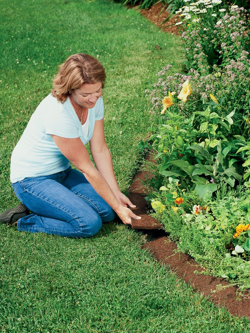 Coco Fiber Edging Coconut Fiber Edging Gardeners Com Garden