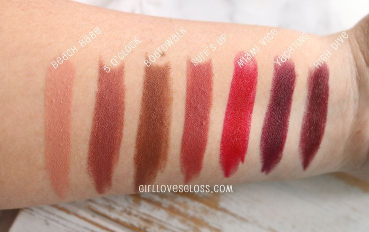 Color Splash Lipstick by Tarte #7