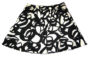 one of my favorite anthropologie skirts