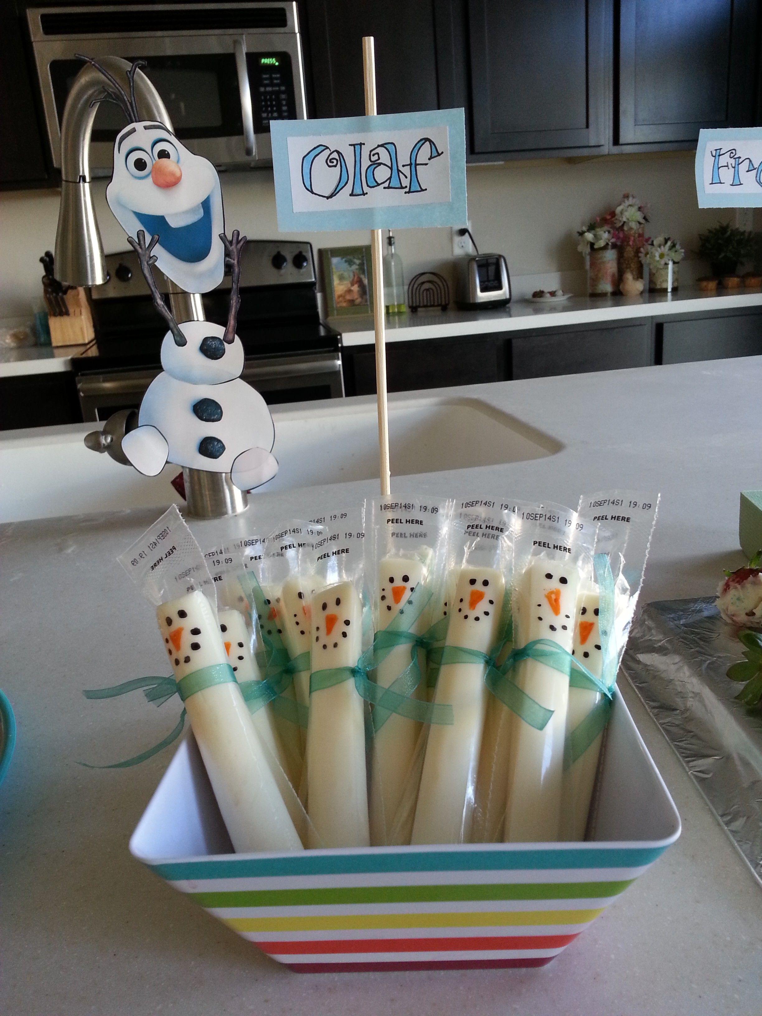 My DIY Frozen Birthday Party Frozen birthday party Frozen