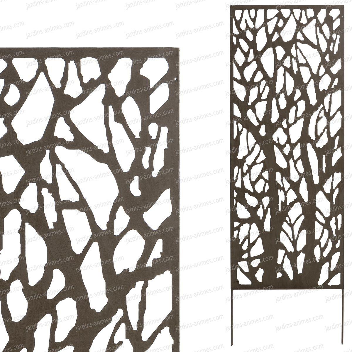 Panneau décoratif BRANCHES 9.9m x 9.9m métal en 2998 | TRAVAUX ...