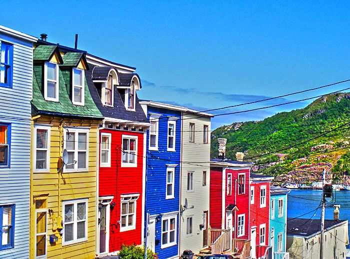 St john 39 s newfoundland canada seeing this unique for Newfoundland houses
