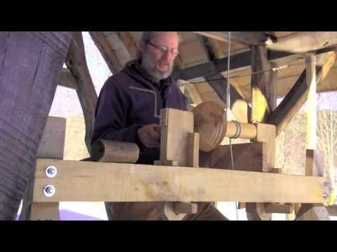 Build a pole lathe - YouTube