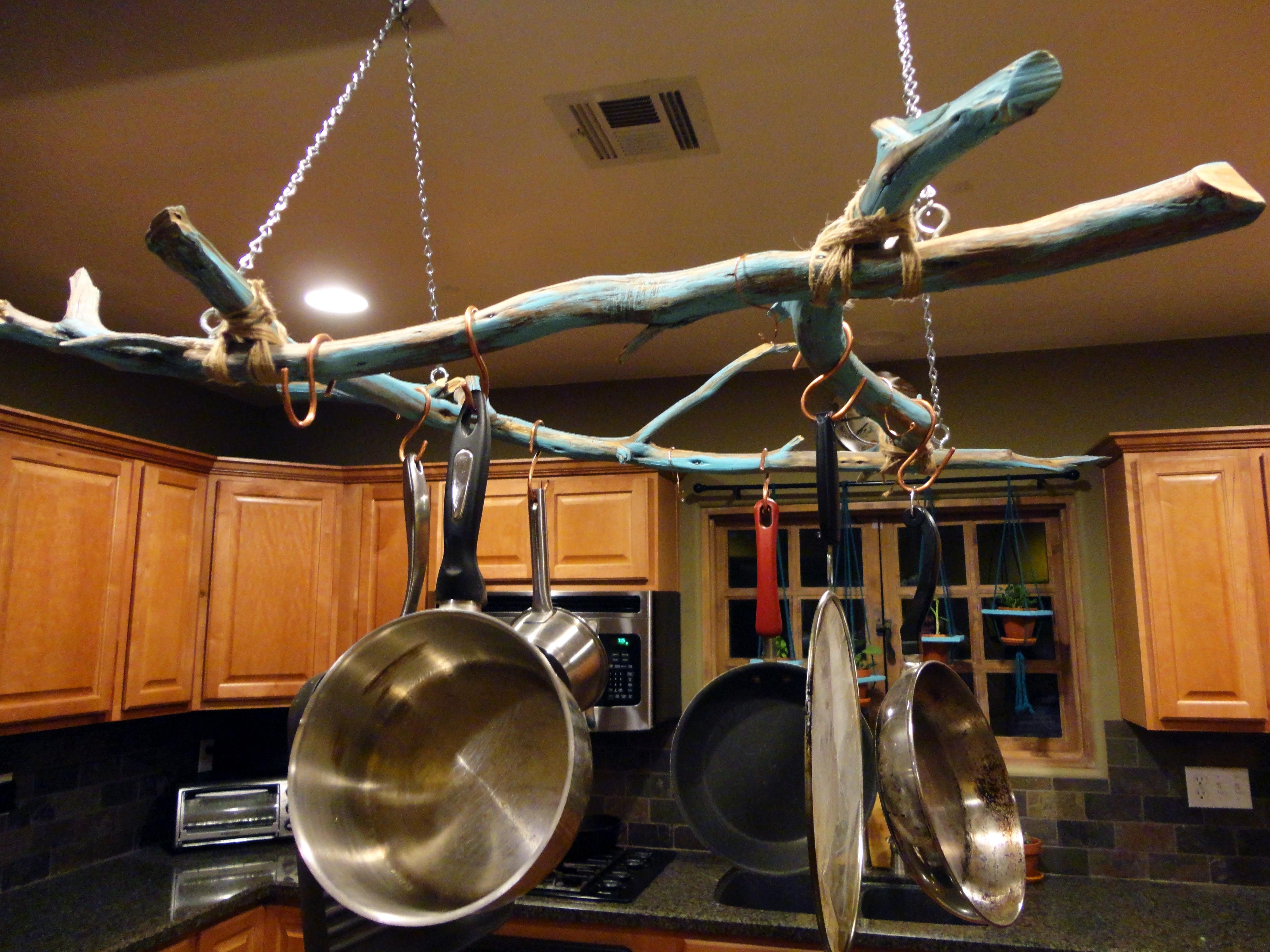 How To Choose The Right Rack For Hanging Pots And Pans Pot Rack Hanging Pot Hanger Kitchen Hanging Pots Pots and pan ceiling racks
