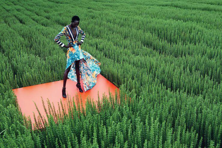 """Mixed Message"" Publication: Neiman Marcus March 2015 Model: Ajak Deng Photographer: Julia Noni"