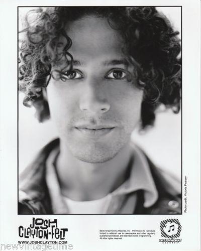 Original-8x10-B-W-Publicity-Photo-JOSH-CLAYTON-FELT-School-of-Fish-2001