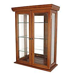 Gl Curio Cabinets Country Tuscan Wall Mounted Cabinet