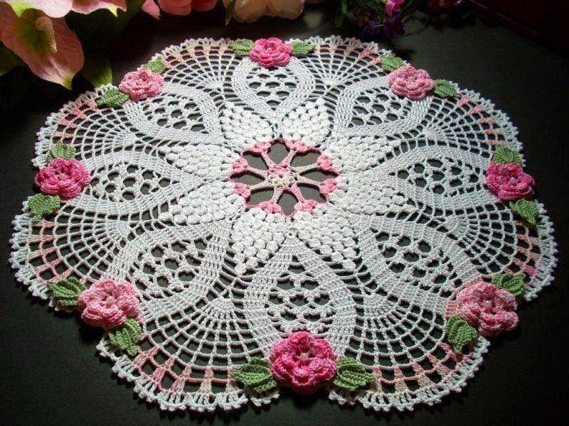 Free Diagrams Crochet Doilies Crochet Pinterest Crochet