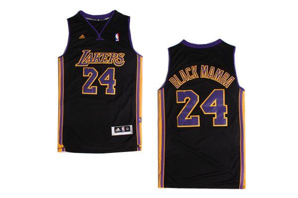 separation shoes 3d9f4 da90f black mamba jersey Hollywood Nights Kobe Bryant nickname ...