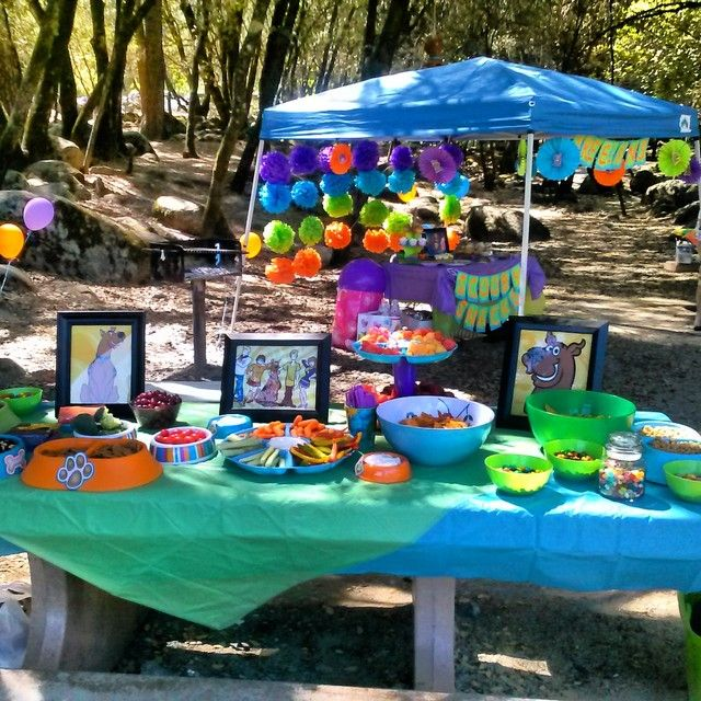 Scooby Doo Birthday Party Ideas | Photo 1 of 18 | Catch My Party