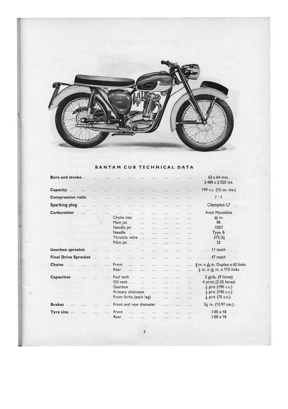 Here's the bike from the parts manual. apparently the use of the BSA Bantam  frame was a considerable upgrade from the original Triumph Tiger Cub frame.