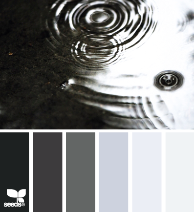 Another cool palette which is perfect for a standard black for Farbmuster wandgestaltung