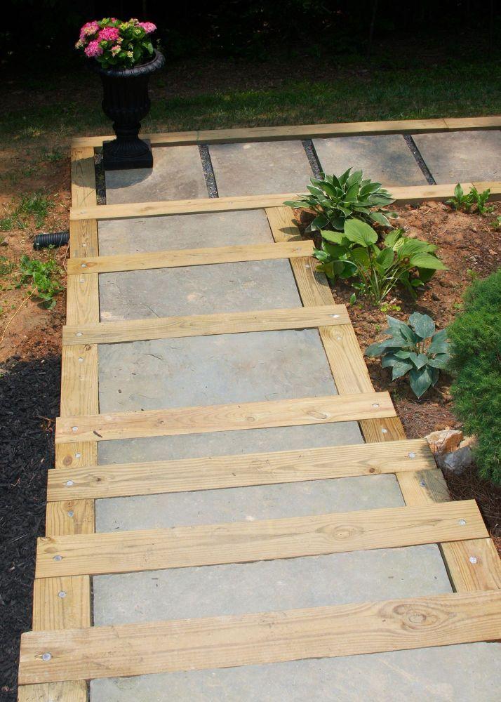 DIY Outdoor Staircase Patio stairs, Diy trellis, Outdoor