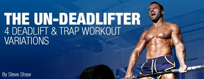 4 Deadlift & Trap Workout Variations #trapsworkout