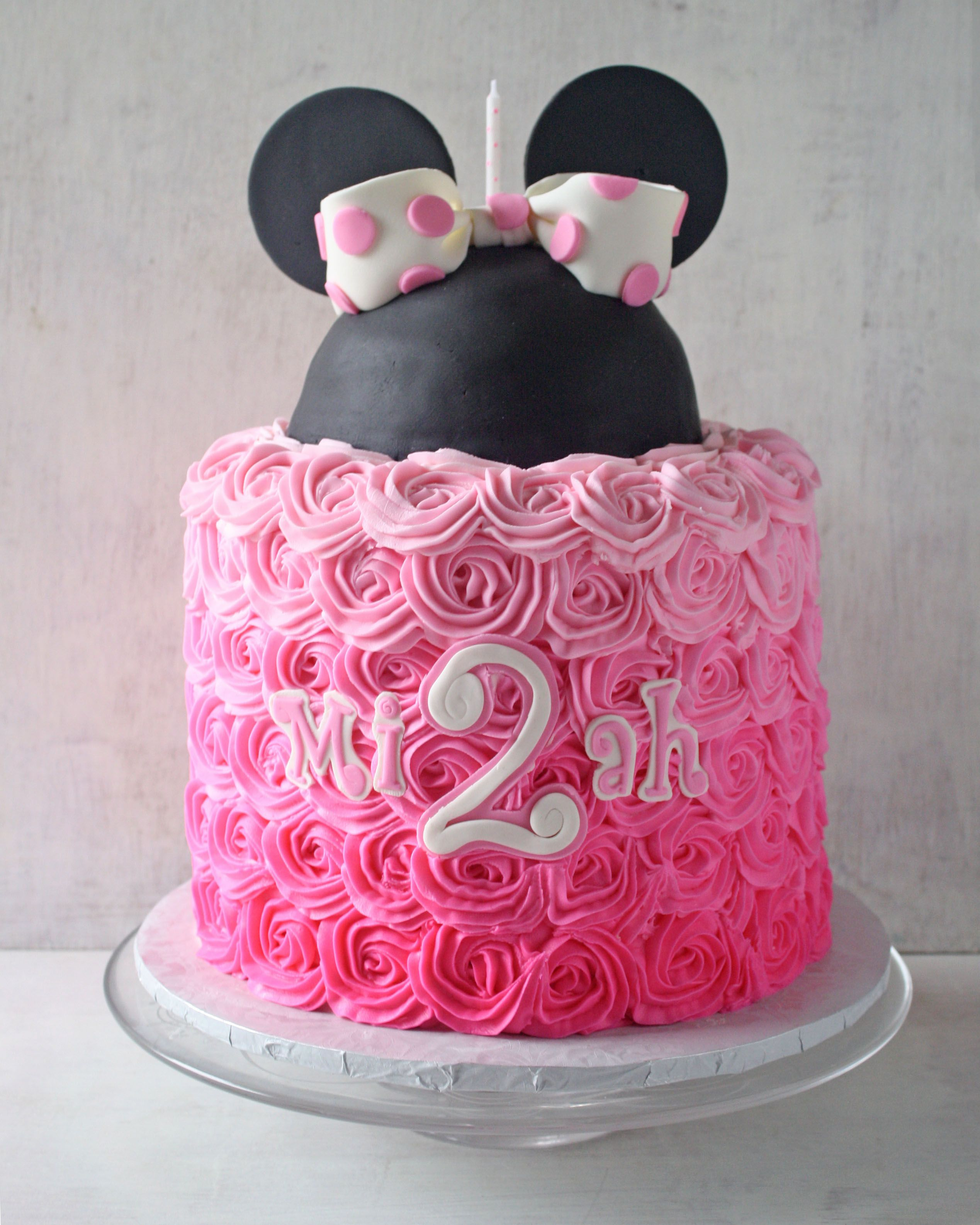 Minnie Mouse Pretty Pink Cupcakes cake images Pinterest Mouse
