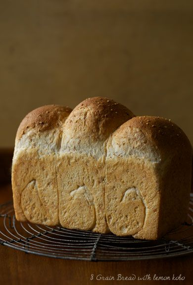 8 Grain Bread With Lemon  : Lovely-Jubbly