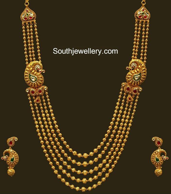 43eb38685fe7e Gundla mala | jewellery | Bridal jewelry, Jewelry, Indian jewelry