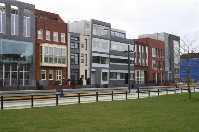 Roombeek in enschede bijzondere woningen in een wijk met for Bijzondere woningen