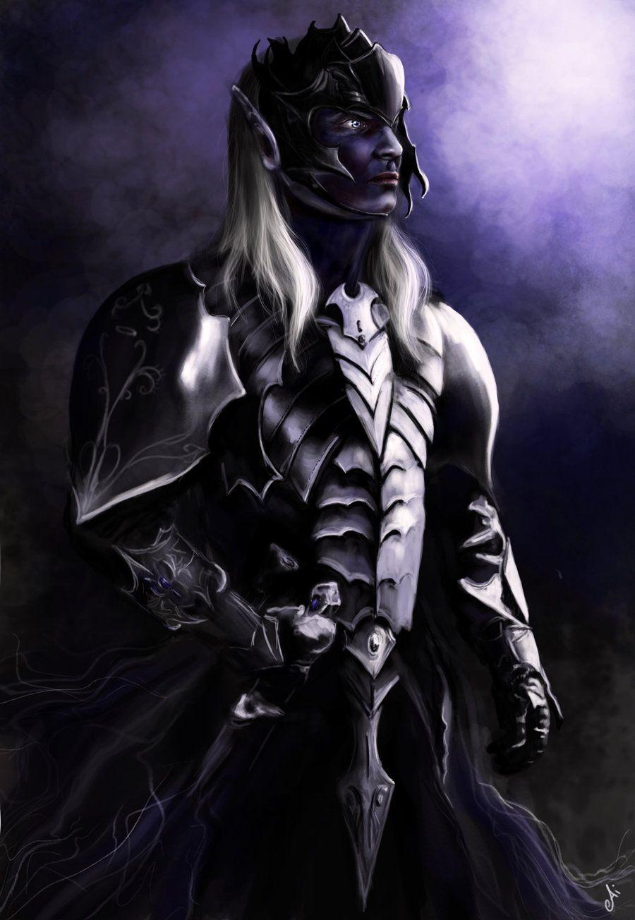 Drow warrior by ~AiDerathar on deviantART