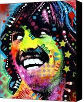 George Harrison Painting by Dean Russo