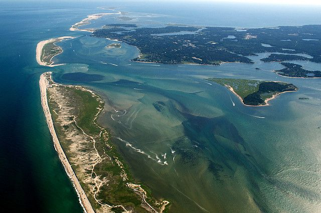Cape Cod Aerial Pleasant Bay And Nauset Beach