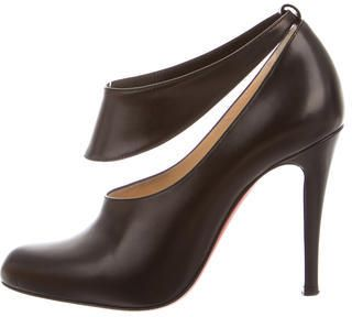 Christian Louboutin Miss Zorra Ankle Strap Booties