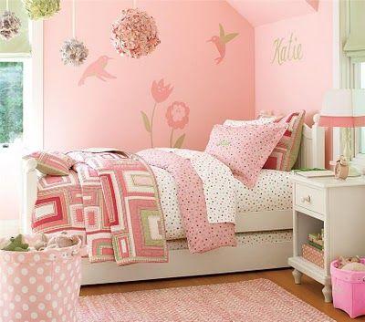 Cuartos decorados para niñas | Solountip.com | Un cuarto de en sueño ...