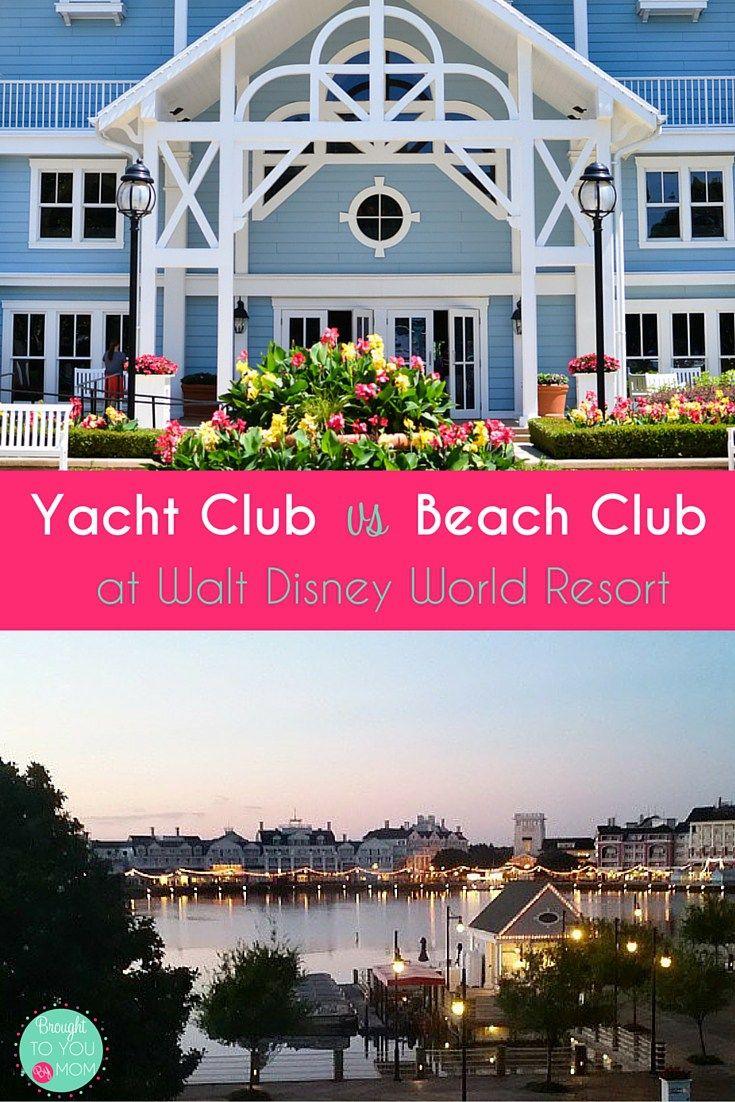 Yacht Vs Beach Club At Walt Disney World And Resorts