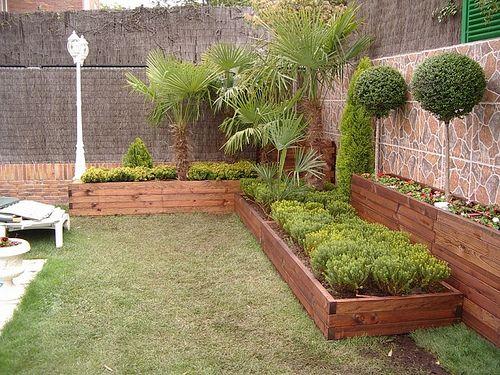 Paisajismo en patio peque o buscar con google jardines - Tipos de jardineras ...
