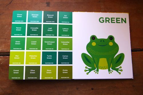 pantone colors for toddlers because if grad school taught me anything its never - Books About The Color Green