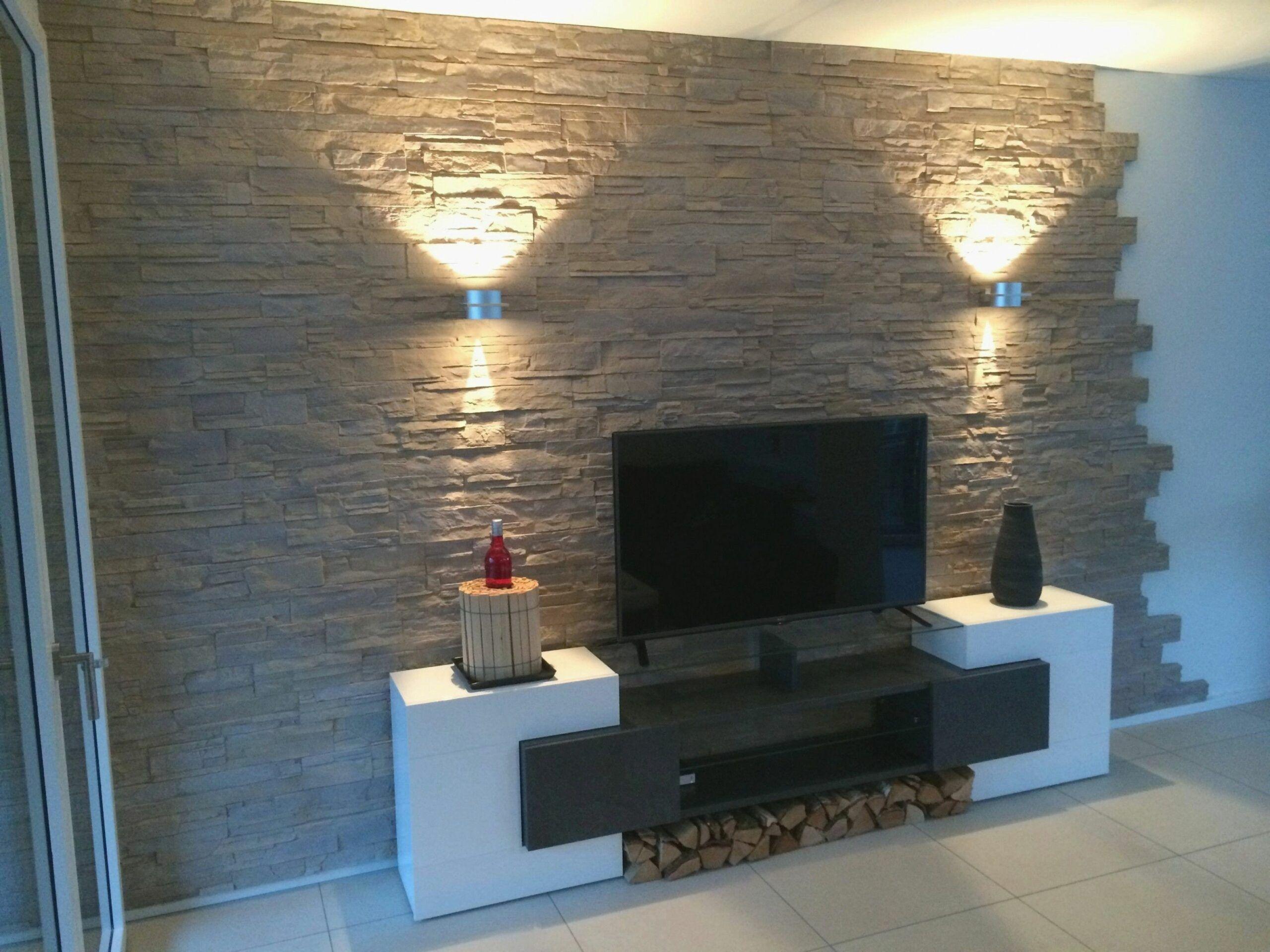 Deko Steinwand Wohnzimmer Decor Home Decor Fireplace