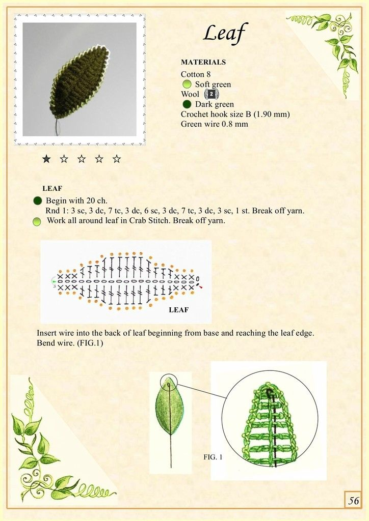 The Book of Crochet Flowers 1_8.jpg | Pinterest | Flores, Flores ...