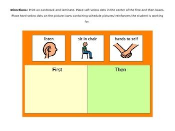 Token Boards and Visual Schedules for Special Education/ Behavior ...
