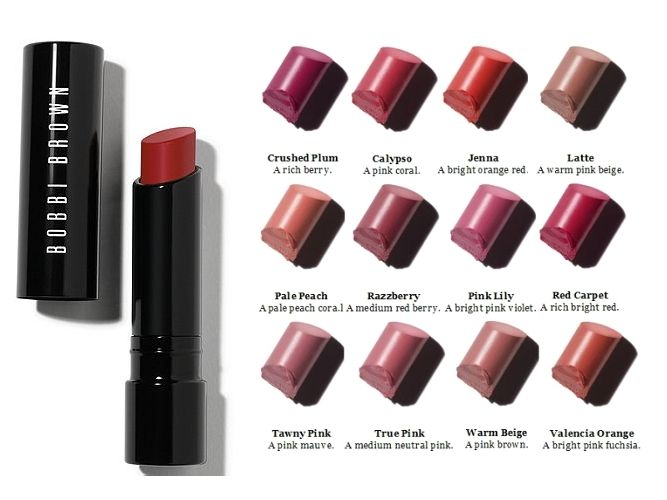 New Bobbi Brown Creamy Matte Lipsticks I am in love with crushed ...